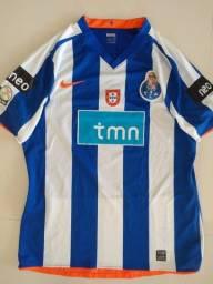 Camisa Nike Porto 2008/09 usada em jogo
