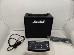 Amplificador Marshall Code 25 Preto Bivolt + Footswitch Orig