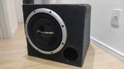 Sub 12 Pioneer mais caixa raridade nunca reformado 1400 w max