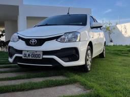 Etios X Sedan 1.5 FLEX 16v AUT 2018 Novo!