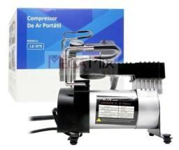 Compressor De Ar Veicular Profissional Portátil 12v Carro LE-975 IT-BLUE