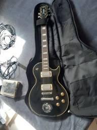 Vendo Guitarra Strinberg LP + pedaleira ZOOM