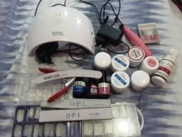 Vendo kit alongamento de unhas