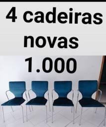 4 cadeiras de luxo nova