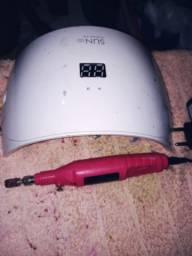 Cabine e lixa eletrica