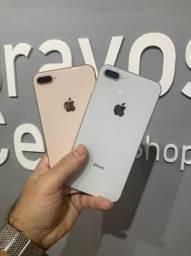 iPhone 8 Plus vitrine chama  90 dias de garantia