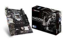 Placa Mãe Biostar H410MH Chipset Intel h410 lga 1200 matx ddr4 m.2- NOVO