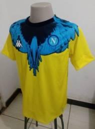 Camisa Napoli Kappa edição Limitada 2021 Fenix Tam M