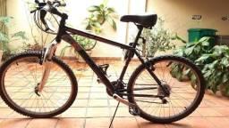 Bicicleta Gonew Endorphine 4.1 Thumb Shifter Shimano - Aro 26 - 21 Marchas - Preto - Usada