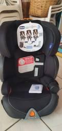 Cadeira Para Auto Oasys 2-3 Fixplus Evo Jet Black 15 A 36 Kg