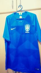 Camisa original do Brasil (azul) 2018