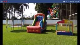 Título do anúncio: Locação por $45,00 o dia: pula pula, pebolim, Air game, fliperama