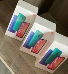Novos Xiaomi redmi 9 64gb 4gb ram