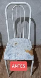 Reformas de cadeiras de cozinha