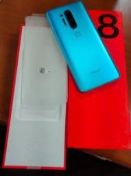 OnePlus 8 Pró Zerado 8/128gb Completo - Na caixa, aparelho muito novo