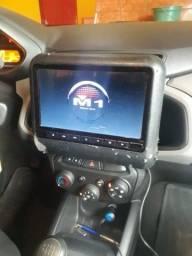 DVD portátil Modelo M1 original de encosto de cabeça para carro