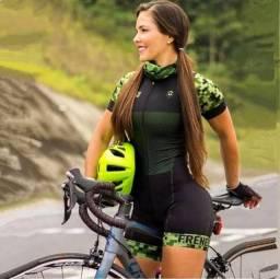 Macaquinho de Ciclismo Tam M Novo
