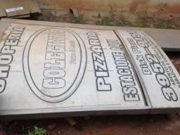 placa de publicidade