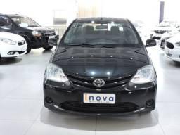 Etios Sedan XS 1.5 completo preto 2013