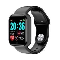 Relógio Inteligente D20 Y68 Smartwatch Várias Funções