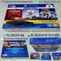 PS4 (LACRADO) NF e Garantia Sony