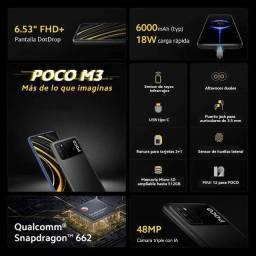 Pomoção!!!! Celular Xiaomi PocoPhone M3 64GB Novo Lacrado Versão Global