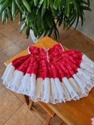 Vestido croche