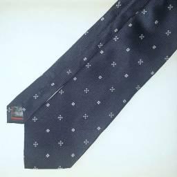 Título do anúncio: Gravata de seda pura Personality azul.