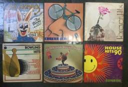 LPs coletâneas internacionais (épocas variadas)