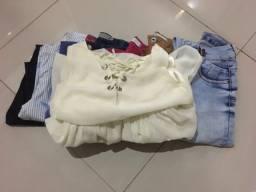 Lote de roupas 36