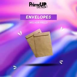 Envelopes Kraft   Envelopes Branco   Envelopes Ouro - Envelopes de vários tamanhos