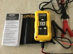 Carregador bateria 30a inteligente para moto Vonder