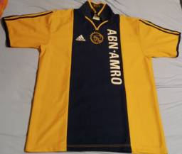 Camisa rara do centenário do Ajax anos 2000 origina l