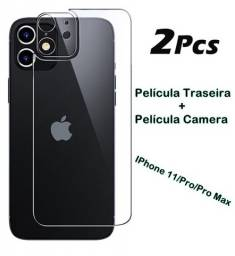 Pelicula de vidro de camera e traseira Iphone 11/11Pro/Pro Max