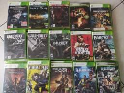 Games em mídia física originais para Xbox 360