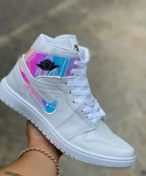 Tenis (Leia a Descrição) Nike Jordan Trad Várias Cores Novo
