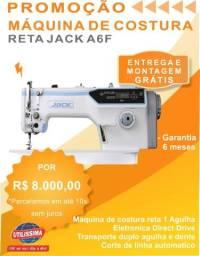 Máquina De Costura Reta Eletrônica Jack A6-f ?