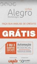 Alegro Montenegro- Agende sua visita, apartamento com 2 quartos