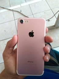 iPhone 7 rose de 128 g (negocio valores)