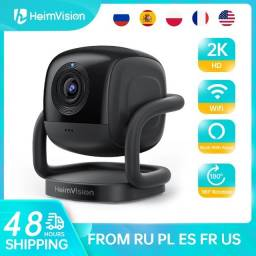 Câmera IP WiFi Heimvision 2k  de Vigilância Visão Noturna  Interna