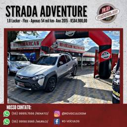 Fiat Strada Adventure1.8/ 1.8 LOCKER Flex CD 2015 Flex
