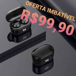 Fone De Ouvido - Fone De Ouvido Tws A6 Sem Fio Bt5.0/ Est Reo Para Iphone / Android