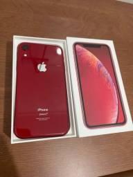 IPhone XR Red 128gb na garantia