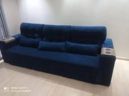 Sofá reclinável retratil