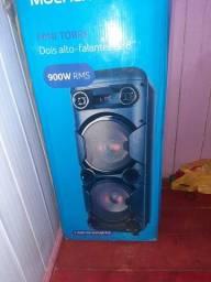 Vendo caixa Multilaser 900 Rms bem conservados poucos meses de uso