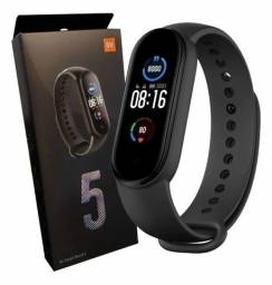Xiaomi Mi Smart Band 5 Pulseira Preta e Controle da Saúde Pronta Entrega