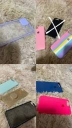 Combo de capinhas iPhone 7 e 8 plus -  EM ÓTIMO ESTADO