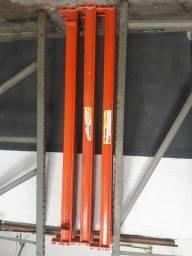 Conjunto Porta Palete - Montante 2.80x1.00 mt / Longarina 2.50 mt