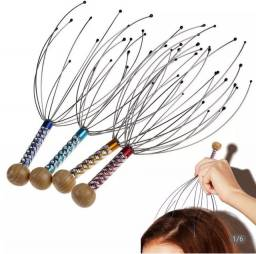 Título do anúncio: Massageador de cabeça 12 hastes terapia magnetica