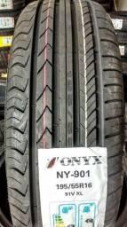 Pneu Novo 195/55 R16 Onyx( C3 Picasso, Grand Siena, Punto e Mini Cooper )
